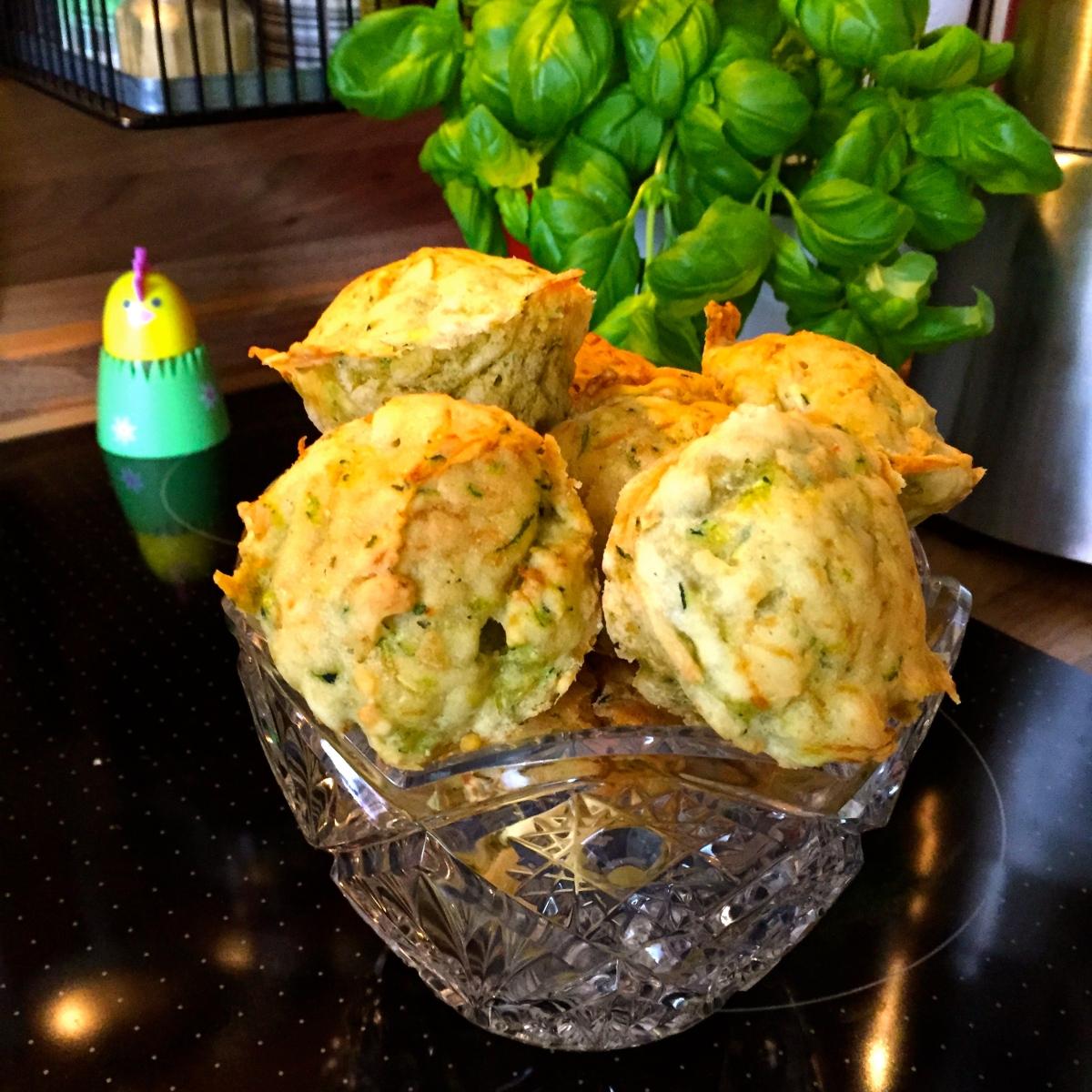 Vegane, glutenfreie Zucchini Muffins - vegan, gluten free zucchini muffins