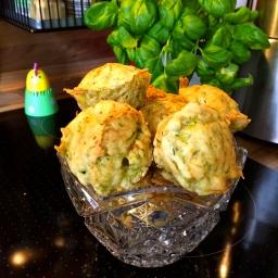 Vegane, glutenfreie Zucchini Muffins – vegan, gluten free zucchini muffins