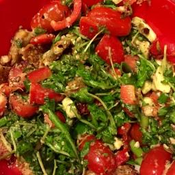 Avocado-Tempeh Salat