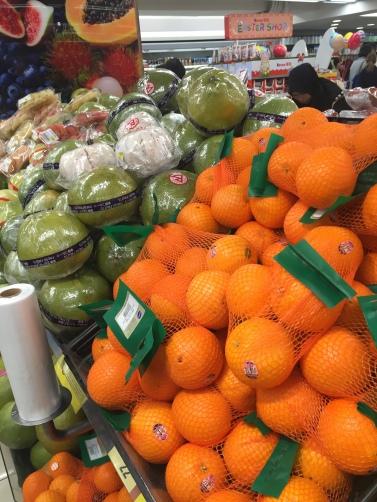 Der absolute Wahnsinn, war das Obstsortiment im Wellcome Supermarkt in der Jaffe Road!