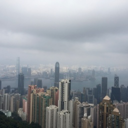 Ein kurzer Ausflug zum Peak nach Hong Kong