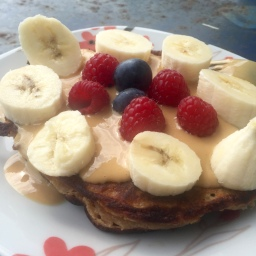 Vegane Protein Pancakes