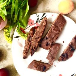 Vegane Schoko-Blaubeer Kekse