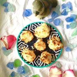Vegane und glutenfrei Kokoshügelchen / Coconut Rocks –  vegan, gluten free