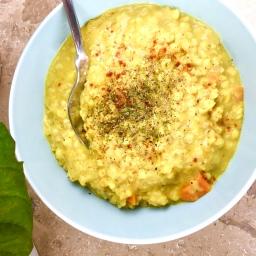 Buchweizen-Linsen-Curry (vegan)