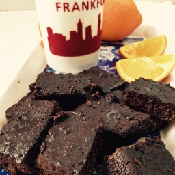 Fabulous brownies – vegan