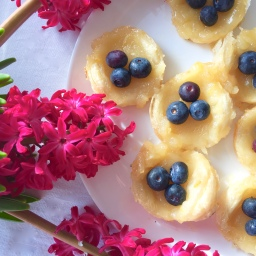 Lemon Tartlets –  vegan​