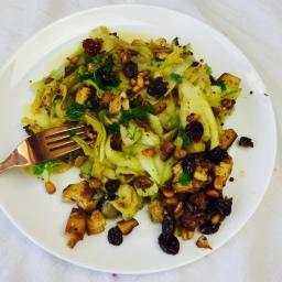 Zucchini Tagliatelle (vegan)