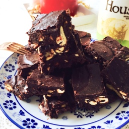 Raw-Vegan Chocolate Brownies