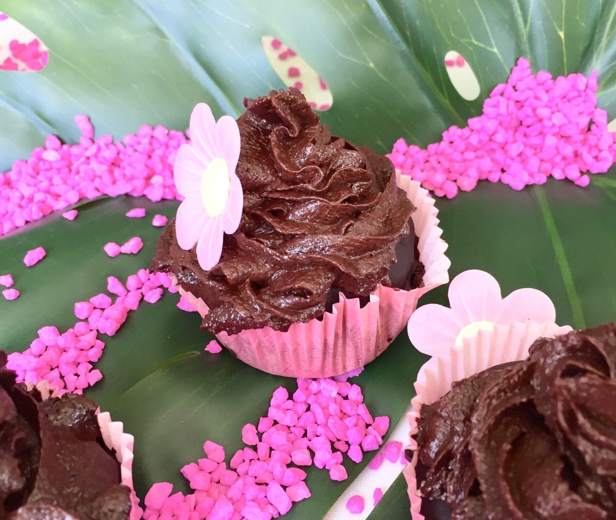 Double chocolate cupcakes - vegan