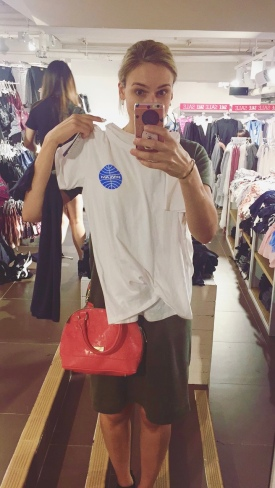 A little shopping is always necessary when your are in Hong Kong.