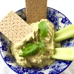 Hummus – 1 recipe – 2 varieties