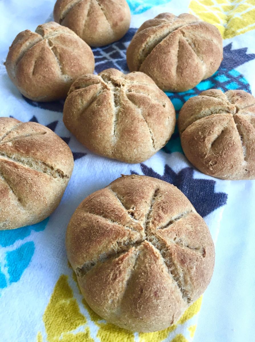 Crunchy soft rolls